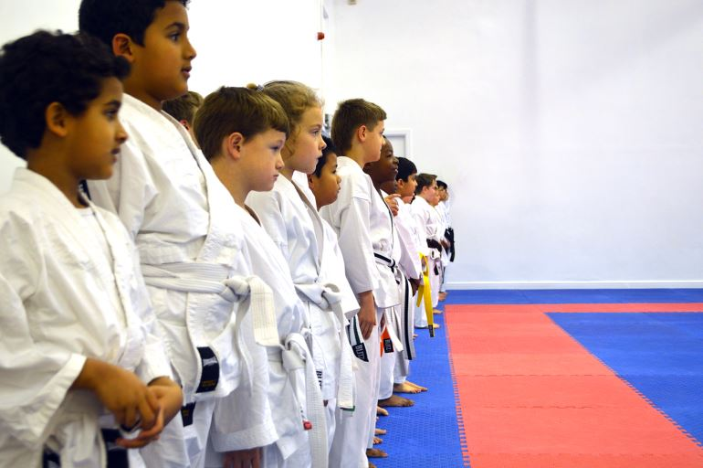 Kids Karate Discipline