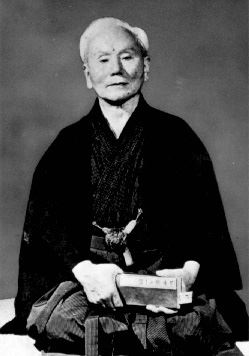 Gichin Funakoshi, the founder of Shotokan Karate-Do