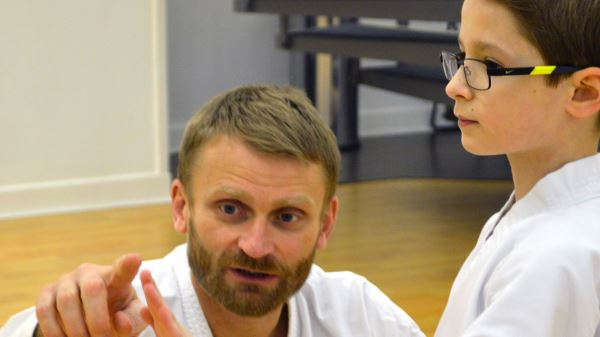 Private Karate Tuition with Steve Carless